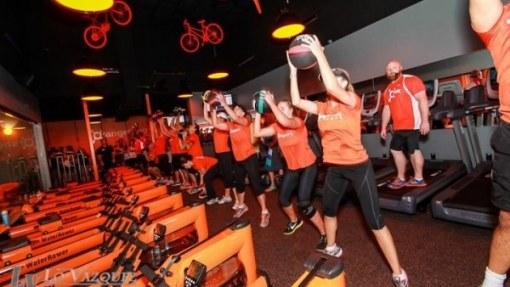 Orange Theory workout image