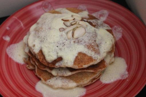 Apricot Almond Pancakes