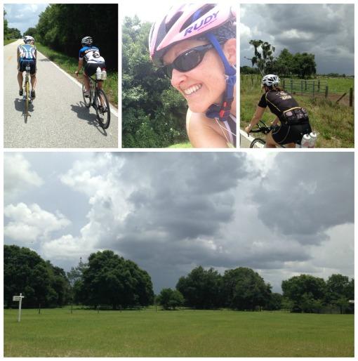 biking in weather