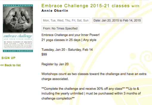 Embrace Challenge
