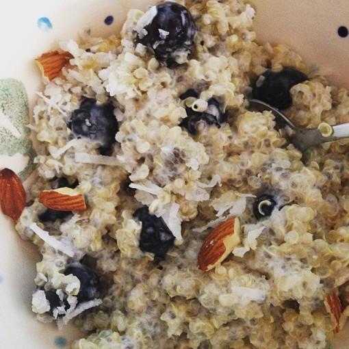 quinoa chia pudding