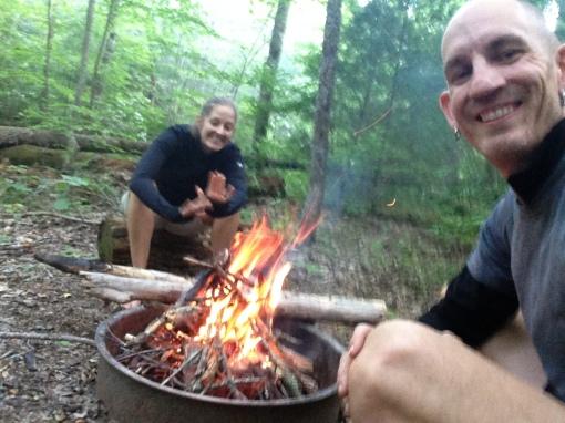 campfire site 77