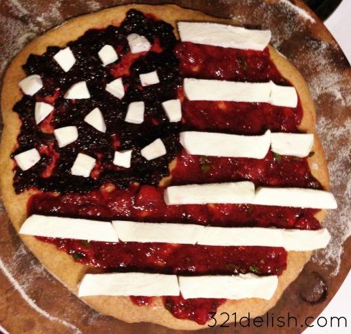 patriotic pizza pre cook